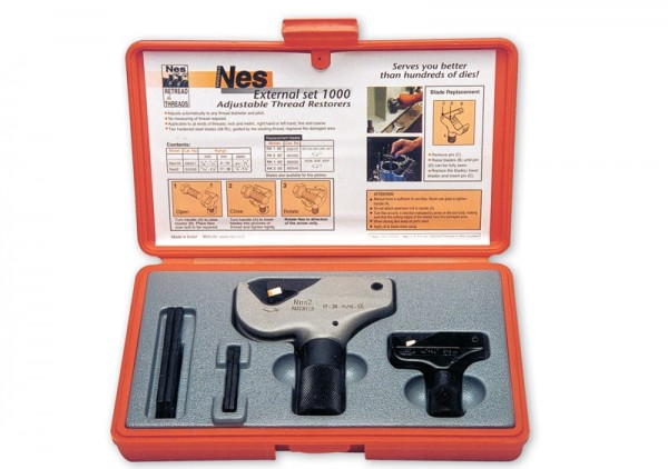Gewindenachschneider Außenschneider Set ø 4 - 38 mm